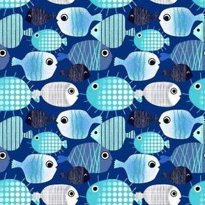 Deep Blue Fish