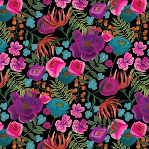 small colorful floral