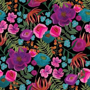 medium-goache-flowers-pattern in black