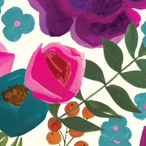 extra-large-gouache-flowers-pattern
