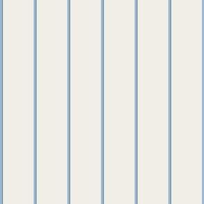 Cerulean And Milk Stripe