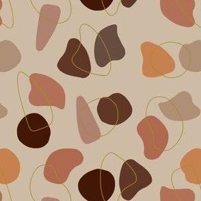 Terrazzo Style Organic Shapes