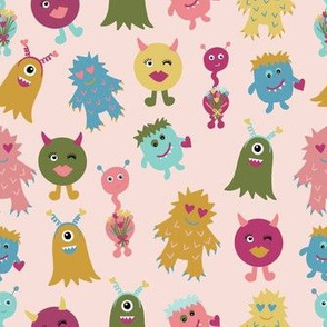 monsters-in-pink