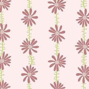 Flower Vines Pink