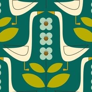 Garden Geese - Jade