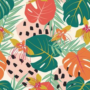 large botanical jungle