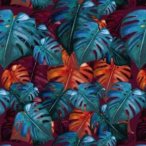 monstera-pattern-mauve-12in