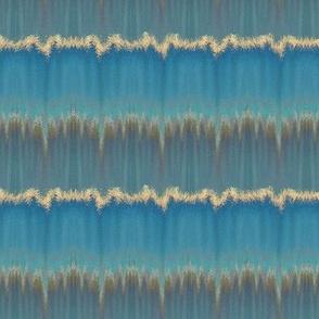 Blue Ocean Breakers Stripe