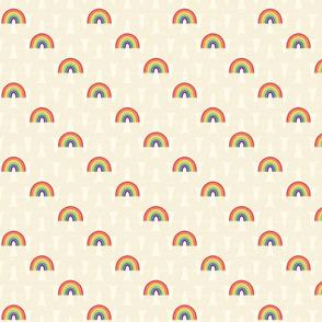 Little Kaleidoscope Rainbow Diagonal