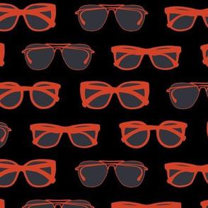 Black Orange Sunnies