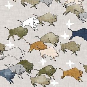 Hi Ho Buffalo (olive) MED