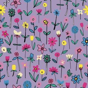 LILAC FLOWER GARDEN