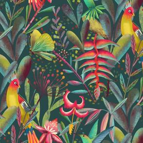 winged jungle fantasy // medium scale