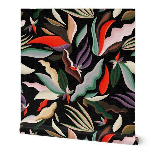 Moody Tropical Flora - N.01 / Large