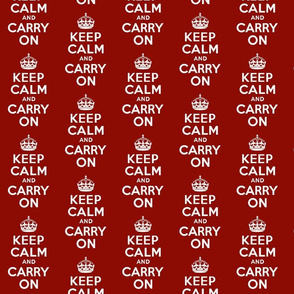 Keep Calm & Carry On Larger-ch