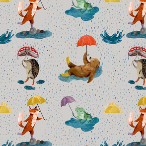 Rainy Day Fabric_Large