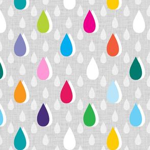 Rainbow Rain large