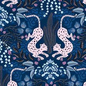 moody tropical leopard/jumbo