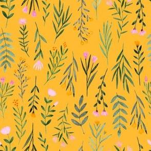 Summer Flowers - Sunshine Yellow