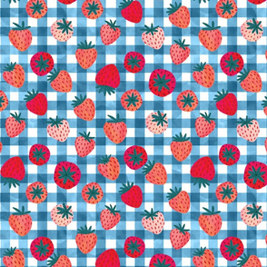 gingham with berries (americana)