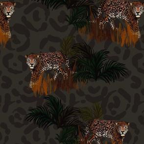 Jaguar jungle, jumbo scale
