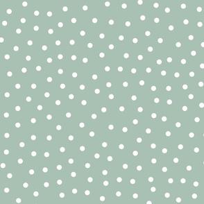 Dots over light teal - bigger