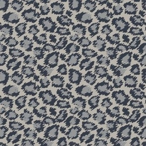 Leopard Spots - Smokey Grey and Khaki