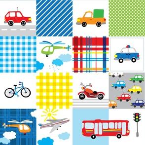 patchwork transport