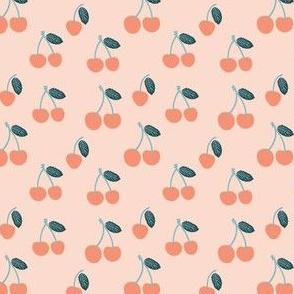 Small Cherry in Peach Orange Cherries