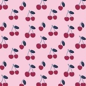 Small Cherry in Dark Pink Cherries