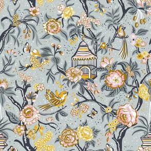 Birds and Bloom_Grey