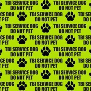 TBI Service Dog- Large