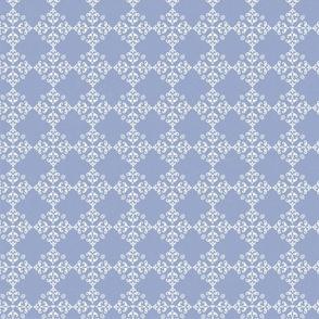 FF Pat 7 purple classic style bees flourette emblem fleur de lis cottage core decor drapery fabric bedding feminine vintage inspired pattern TerriConradDesigns