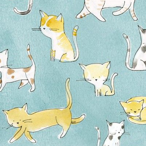 Cats on the go - © Lucinda Wei