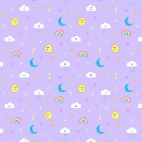 Happy Weather (Lilac)