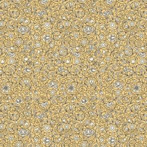 Petit point saucer pattern