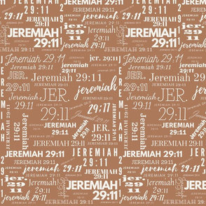Brown and Cream Jeremiah 2911 (2021)