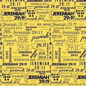 Yellow and Black Jeremiah 2911 (2021)