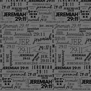 Gray and Black Jeremiah 2911 (2021)