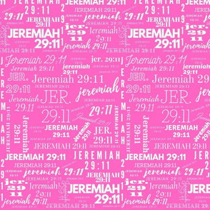 Pink and White Jeremiah 2911 (2021)