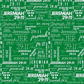 Dark Green and White Jeremiah 2911 (2021)