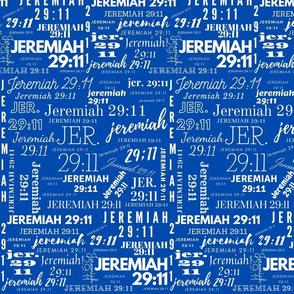 Dark Blue and White Jeremiah 2911 (2021)