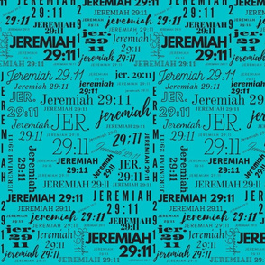 Teal and Black Jeremiah 2911 (2021)