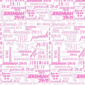 White and Pink Jeremiah 2911 (2021)