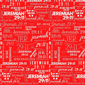 Red and White Jeremiah 2911 (2021)