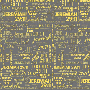 Gray and Yellow Jeremiah 2911 (2021)