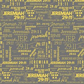 Gray and Yellow Jeremiah 2911 (2021)