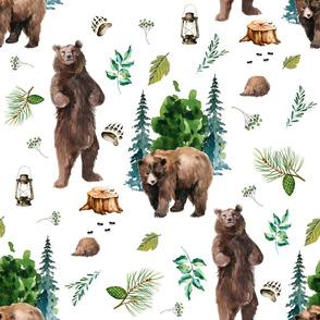 "21"" Bears Camping"
