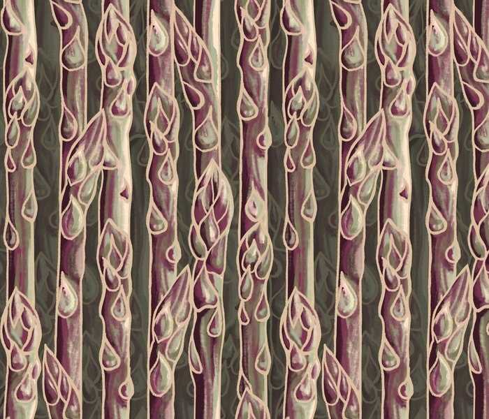 Purple Asparagus sq3veggies