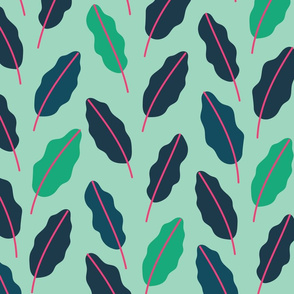 Tropical Leaves - Multi color